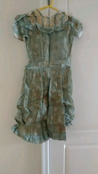 brown and gray floral sleeveless dress Sierra Vista, 85635