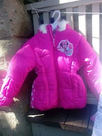 toddler's pink Minnie Mouse full zip jacket Milwaukee, 53215