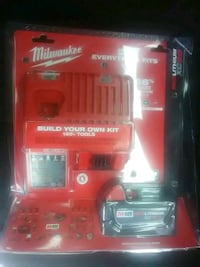 Milwaukee M18 Red Litheum XC5.0 battery & charger Colorado Springs, 80909