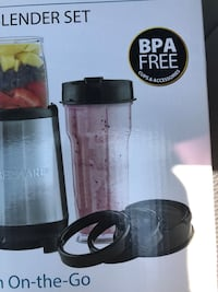 New Smoothie blender. A great way of getting all your fruits and vegetables in one go. Easy to use and easy to clean up . Laurel, 20723