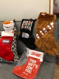 Assorted Christmas Stockings