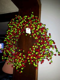 Artificial Cranberry Wreath-new with Tags