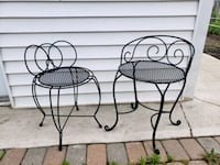 2 Vintage Vanity Chairs/Outdoor Chairs Oakville, L6K 3E6