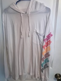 Used Once Pink Victoria Secret shirt size Large  Waco, 76706