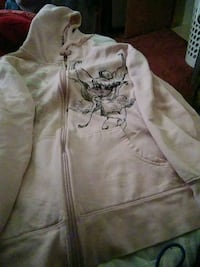 white and pink zip-up hoodie Asheville, 28806