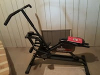 black stationary bike Hamilton, 20158