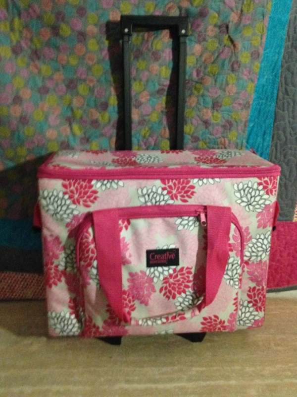 Used Baby Lock Rachel With Rolling Sewing Bag And Unopen