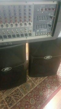 Peavey 8 Channel PA system with Speakers  Whitby, L1N 1V4