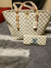 Damier Azur Louis Vuitton tote bag South Bend, 46601