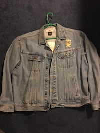 Exclusive Ravens marching band jean jacket. Like new  size XL Perry Hall, 21128