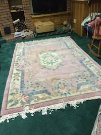 white and green floral area rug Kitchener, N2B 3H1