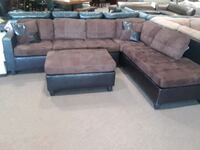 Sectional and ottoman San Diego, 92115