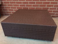Wicker ottoman/table Arlington, 22201