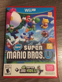 Selling Super Mario Bros & Guitar Hero for Wii U