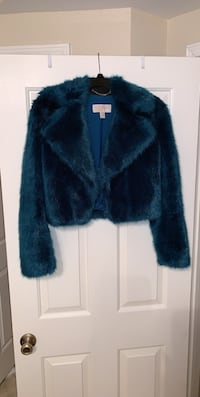 Michael Kors Blue Faux Fur Jacket! Fairfax, 22033