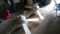 two white 5-bladed ceiling fans West Columbia, 29169