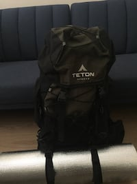 Backpacking pack and roll
