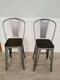 Industrial Counter Height Stools Spring, 77373