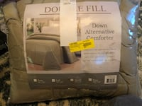 Green full sized down alternative comforter bed comforter  Simpsonville, 29681