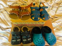 Baby shoes 12 months to 2 years old $12 for all!