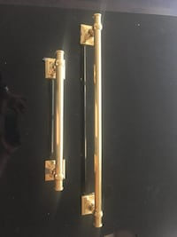 Solid brass hand and bath towel bar Toronto, M5S 1T8