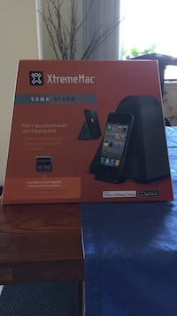 XtremeMac Speaker with charging station for phones  Vancouver, V6M