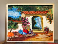 Coralline Thread Colombian Art on Canvas Los Angeles, 90031