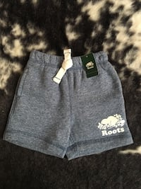Roots shorts  St Thomas, N5R 3S6