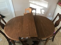 Dining room table with chairs Concord, 28027