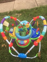 Holiday Sale -Baby's multicolored jumperoo Windsor Mill, 21244