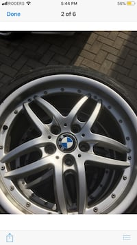 """18"""" bmw rims and tiers 558 km"""