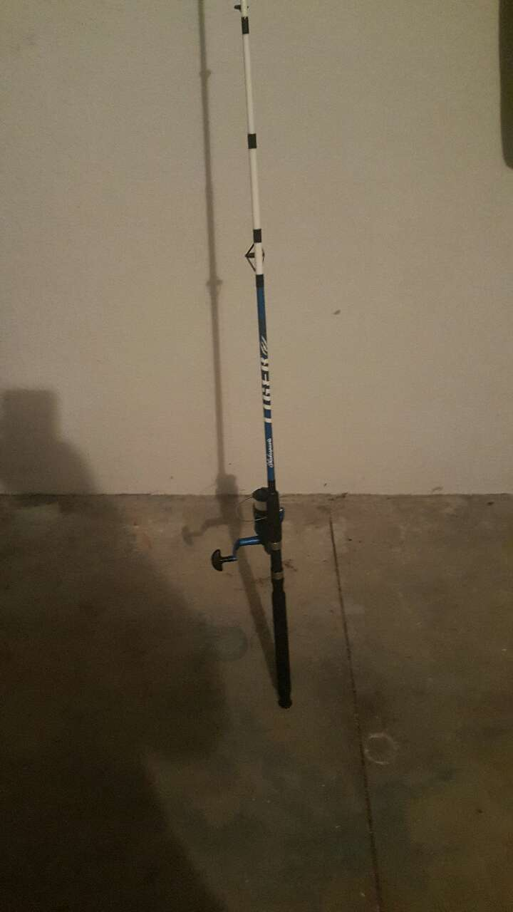 Letgo fishing pole with lures in north port fl for Batman fishing pole