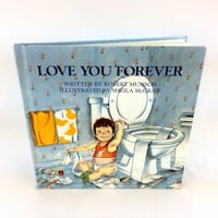 Love You Forever Book Hardcover Robert Munsch 2002 New Parents Mom Gift Port Colborne