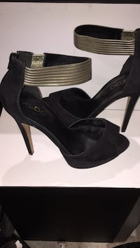 Aldo Size 8.5 Black Heel Shoes Toronto, M1J 3L8