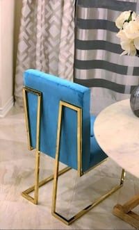 New Blue Modern Dining Chair.
