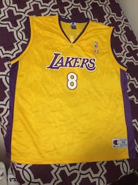 Yellow and purple lakers 24 jersey shirt Richmond, V7A 3P4
