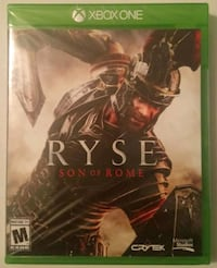 Brand New Xbox One Ryse Son Of Rome Video Game  Troy, 12180