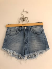 High wasted Jean shorts