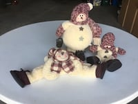 two brown and white bear plush toys Wainfleet, L0S