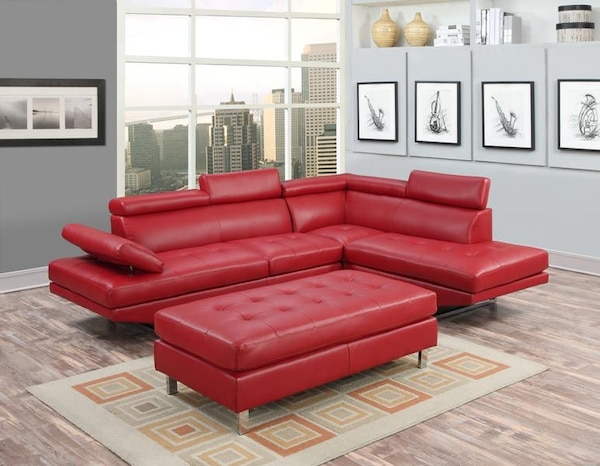 Marvelous Ibiza Sectional Sofa With Ottoman Comes In Black Grey And Red Color Same Day Delivery Lowest Prices In Florida Pdpeps Interior Chair Design Pdpepsorg