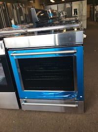 blue and gray induction range oven Washington, 20024