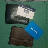 2 leather wallets brand new with tags polo and Col St. Louis, 63110