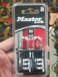 black and gray master lock padlocks in box Ontario, M6E 2J8