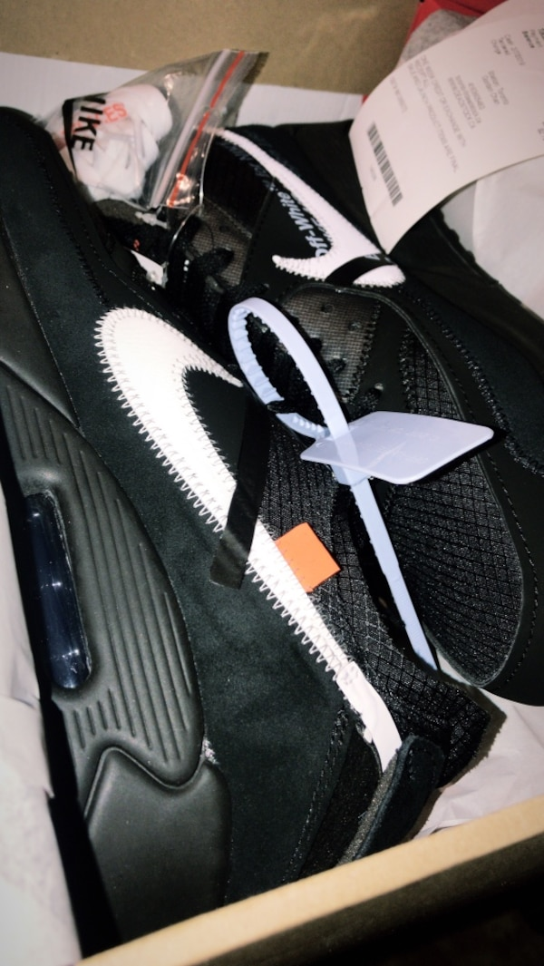 online store 0265d cedc7 Off White Nike Air Max 90 size 11