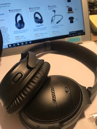 black and gray corded headphones Burke, 22015