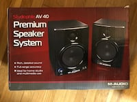 Studiophile AV40 Desktop Speakers Arlington, 22204