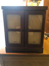 black wooden framed glass window 1459 mi