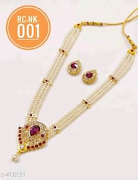 gold and diamond studded necklace New Delhi, 110091