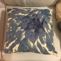 blue and white camouflage textile 朗福德, V9B 0B6