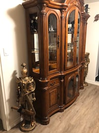 Armour display buffet-cabinet
